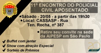 11º BAILE DOS APOSENTADOS!