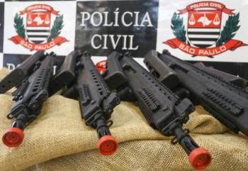 731 novas armas são entregues à Polícia Cívil