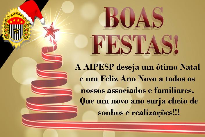 AIPESP DESEJA BOAS FESTAS!