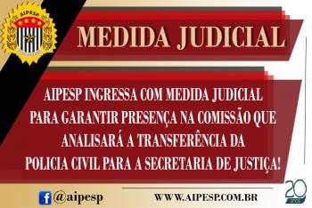 AIPESP INGRESSA COM MEDIDA JUDICIAL