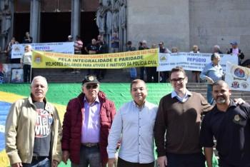 Ato na Praça da Sé em Defesa da Integralidade e Paridade