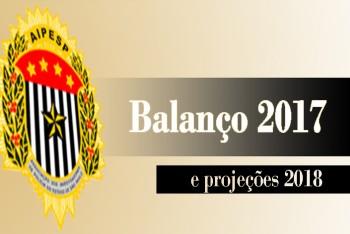 BALANÇO 2017 E PROJEÇÕES 2018