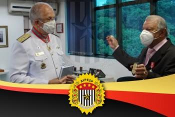 CERIMÔNIA DE ENTREGA DA MEDALHA DE HONRA AO MÉRITO NAVAL AO PRESIDENTE DA AIPESP, VANDERLEI BAILONI