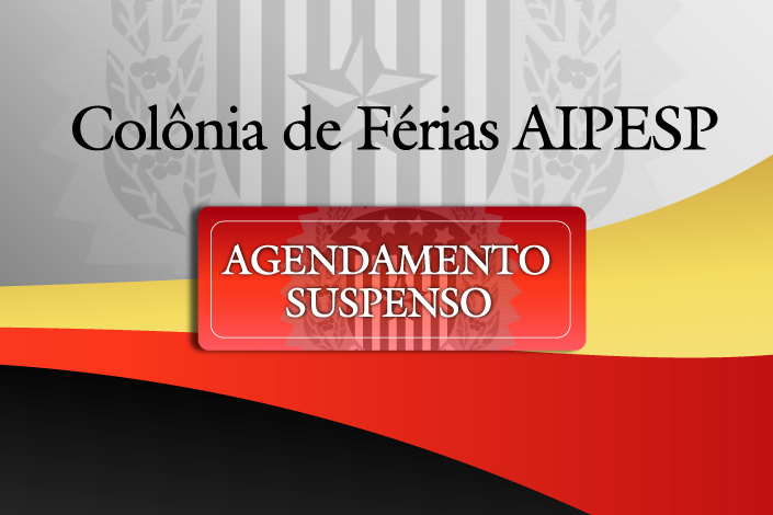 COLONIA DE FÉRIAS SUSPENSAS