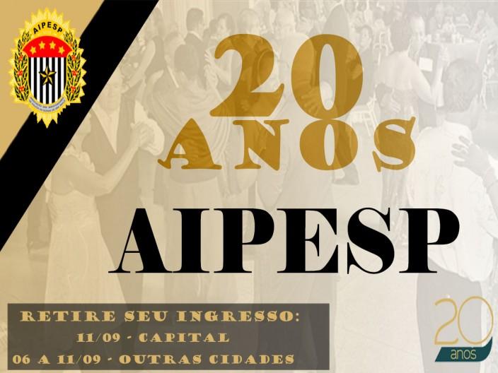 COMEMORAÇÃO, AIPESP 20 ANOS