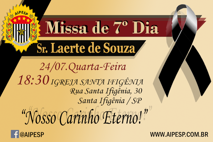 MISSA 7º DIA SR. LAERTE SOUZA