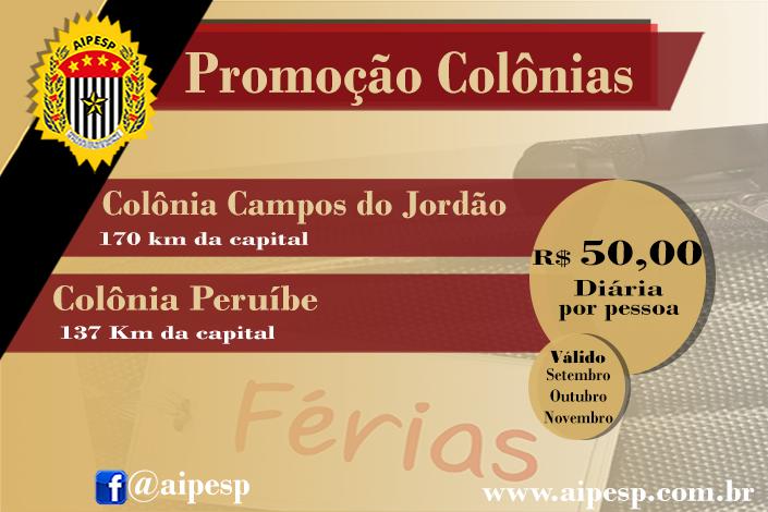 PROMOÇÃO COLÔNIAS DE FÉRIAS!